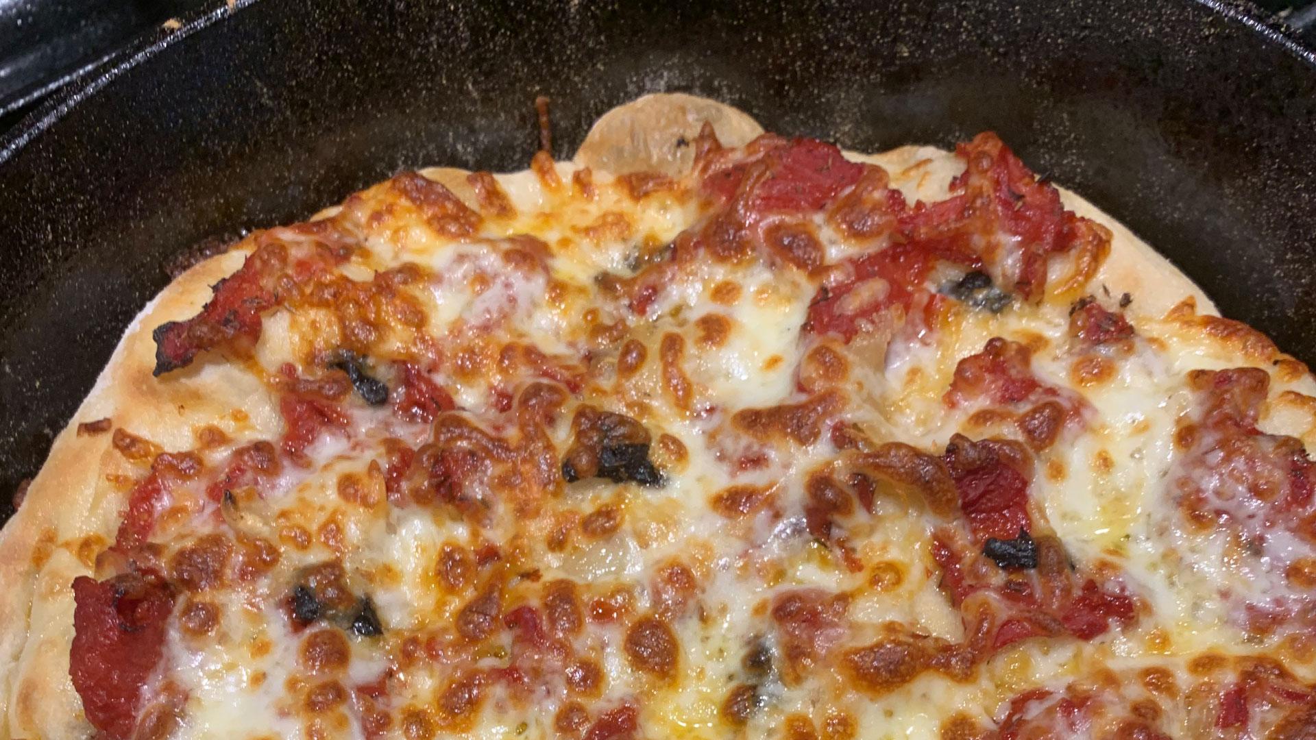 Cast Iron Pan Pizza